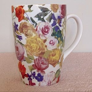 Indigo Floral Tea Mug With Stainless Infuser 2016